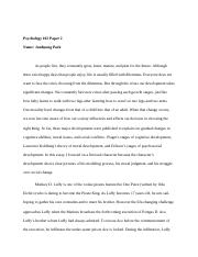 PSY 102 paper 2