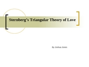 Sternberg�s Triangular Theory of Love