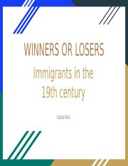 19th Century Immigration - US History