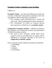 03_Economic Systems_Overhead Slides