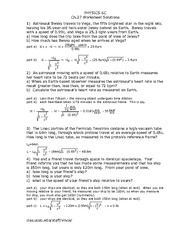 Physics 6C Ch27worksheet Solutions