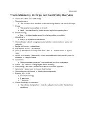 Thermochemistry Overview.docx