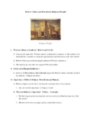 Hist151 Notes 1.11