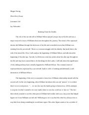 Lit short story rough draft