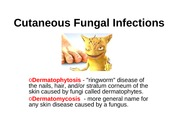 Cutaneous Fungal Infections 9.14.37 PM