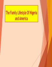 The Family Lifestyle Of Nigeria and America.pptx.pdf