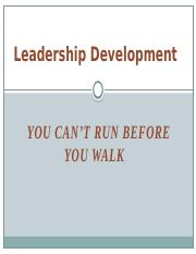 Leadership Development (PPT Slides) (1)