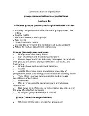 Lecture 8 (groups + teams).doc
