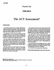 ACT Practice Test 57B pdf - | Course Hero