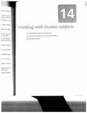 W03 Working with human subjects (Chapter 14) .pdf