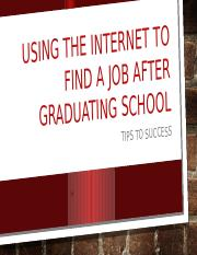 Using the internet to find a job after.pptx