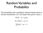 Lecture 9 Probability