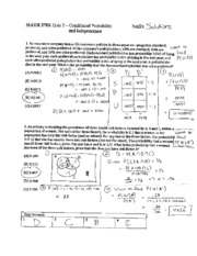 conditional probability problems and solutions pdf