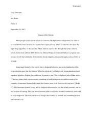 Dances with Wolves paper