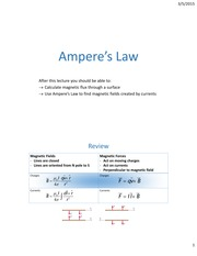 Lecture16 ch28 AmpereLaw