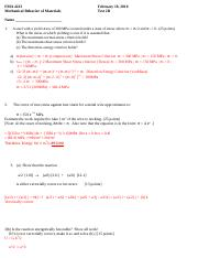 EMA 4223Test 2B Solutions March 12