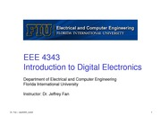 lecture 4 on Introduction to Digital Electronics