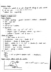 Notes on Enzymes