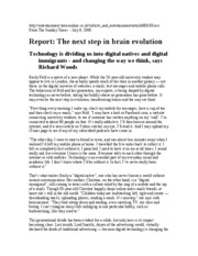The_Next_Step_in_Brain_Evolution_-_Richard_Woods