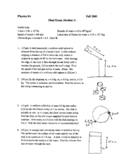 Physics8A_Fall03_FinalSection1_Golightly