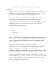 Summary & Review Questions Chapter 1