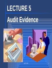 Lecture 05 Audit Evidence.pptx