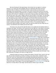 Descriptive essay topics list