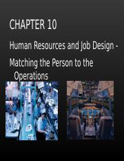 Chapter 10 - HR and Job Design.ppt