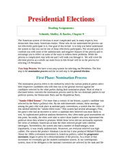 presidental elections