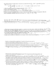 CHEM 544 Fall 2014 Practice Final Exam Solutions