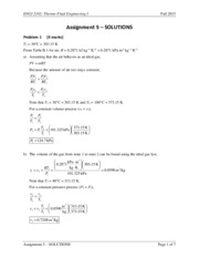 ENGI 2102 - Assignment 5 - SOLUTIONS(1)