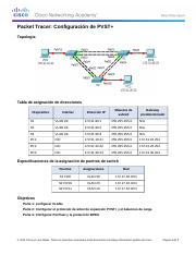 2.3.1.5 Packet Tracer - Configuring PVST+ Instructions.docx