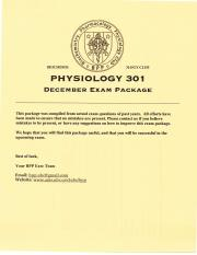 Phyl 301 Exam Package