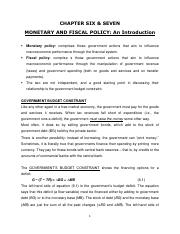 Chapter_6_Monetary policy-An Introduction