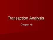 16 - Transaction Analysis