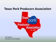 Texas Pork Industry Presentation 2013_Dr. Stanley Young