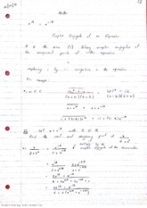 Imaginary Numbers and Modulus Lecture Notes 9