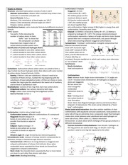O-Chem 1 Review