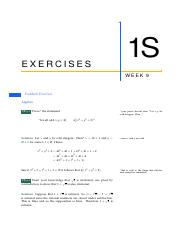 1S-Exercises-Week-9-all-solutions