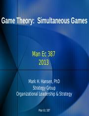 Game Theory Simultaneous Games 13.pptx