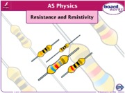 Resistance and Resistivity.ppt