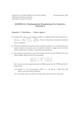 MATH1113-Tutorial9