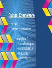 Cultural Competence Presentation