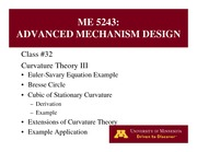 Lecture 32 on Advanced Mechanism Design