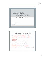 Lecture 6_PA Guidelines for Older Adults.pptx