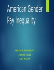 American Gender Pay Inequality.alisefaircloth.pptx