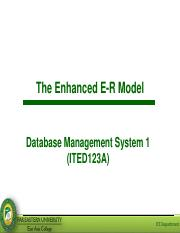 Lesson 3 - Enhanced ER Model.pdf