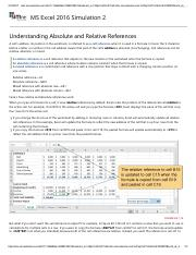 1 - Understanding Absolute and Relative References