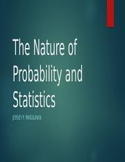 The Nature of Probability and Statistics Chapter 1.pptx