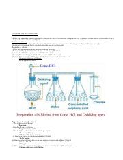 Chemistry of Chlorine - Copy